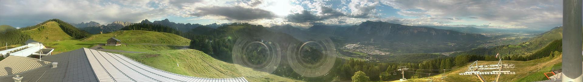Dreiländereck, Panorama